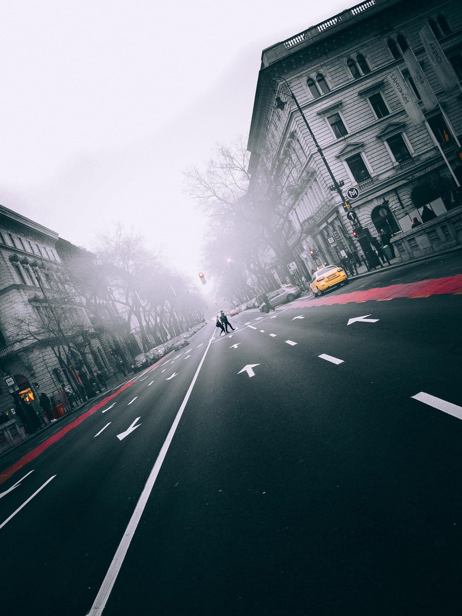 fotografía callejera tomada con cámara evil
