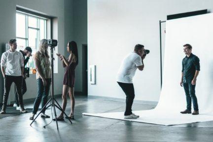 estudio fotografía modelos