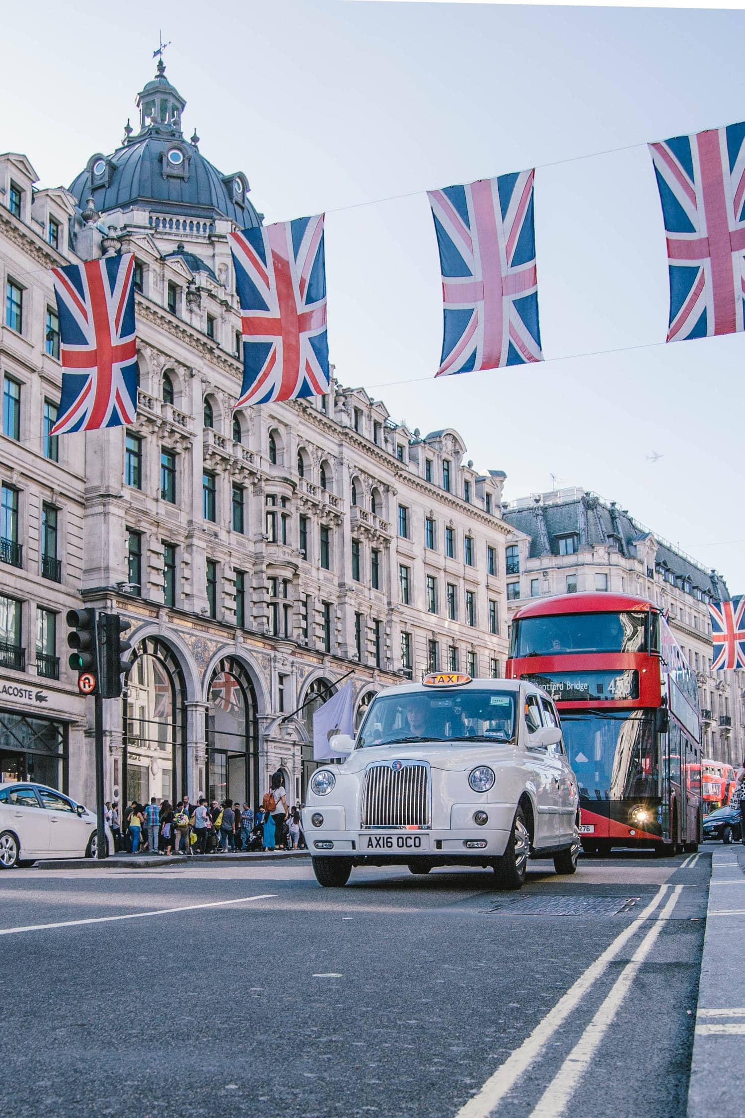 Calle de la ciudad de Londres
