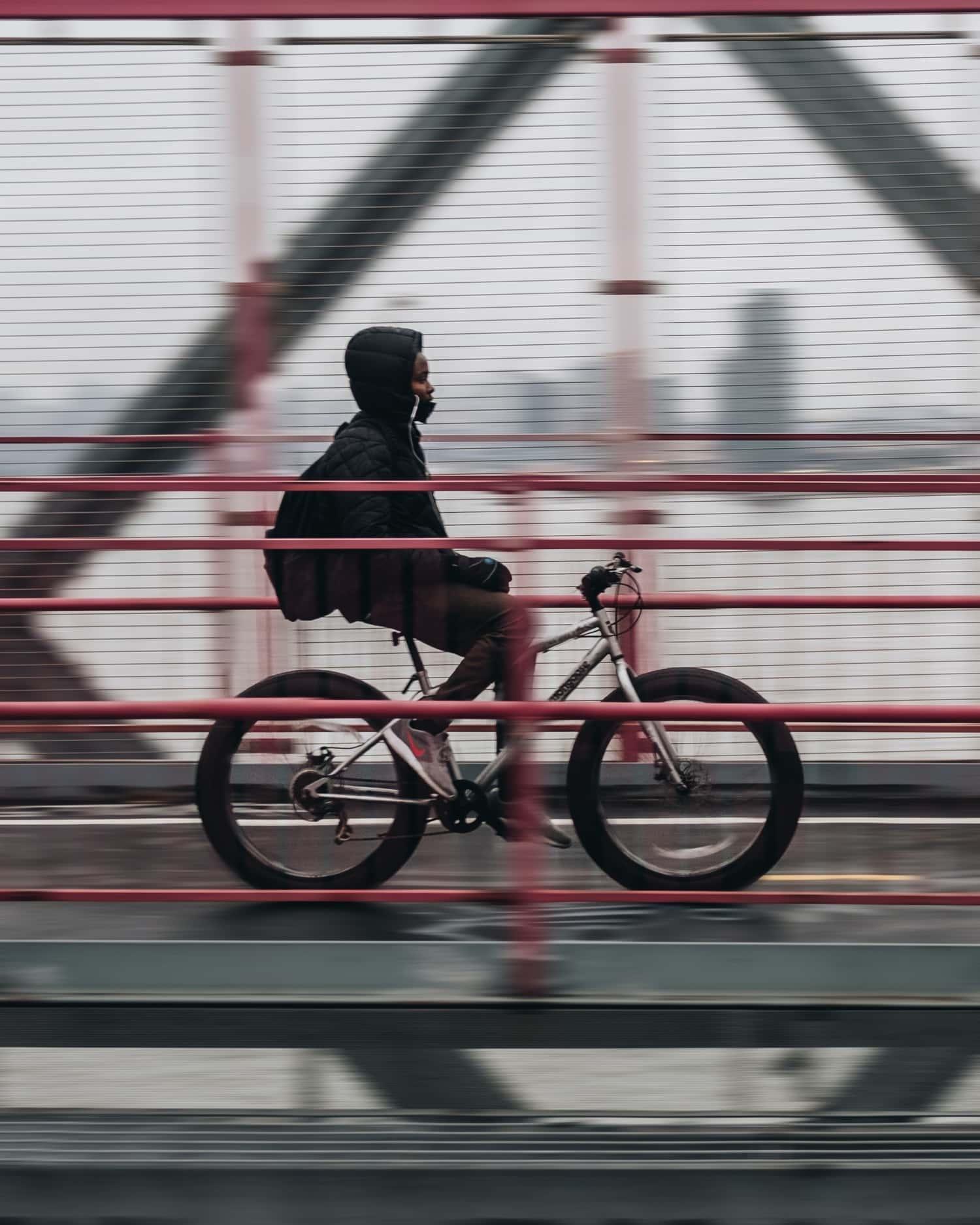 Barrido en fotografía urbana, técnica para transmitir el movimiento