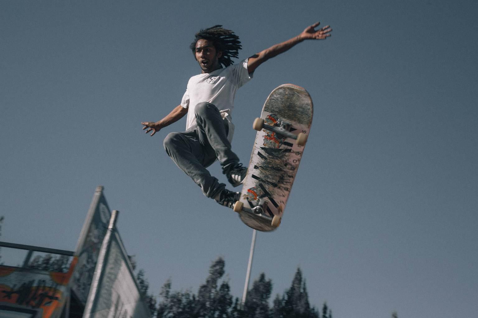 Deporte urbano skater