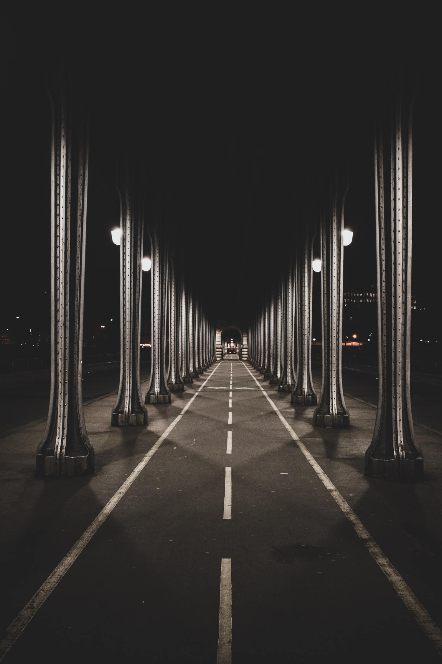 Composición fotográfica basada en líneas