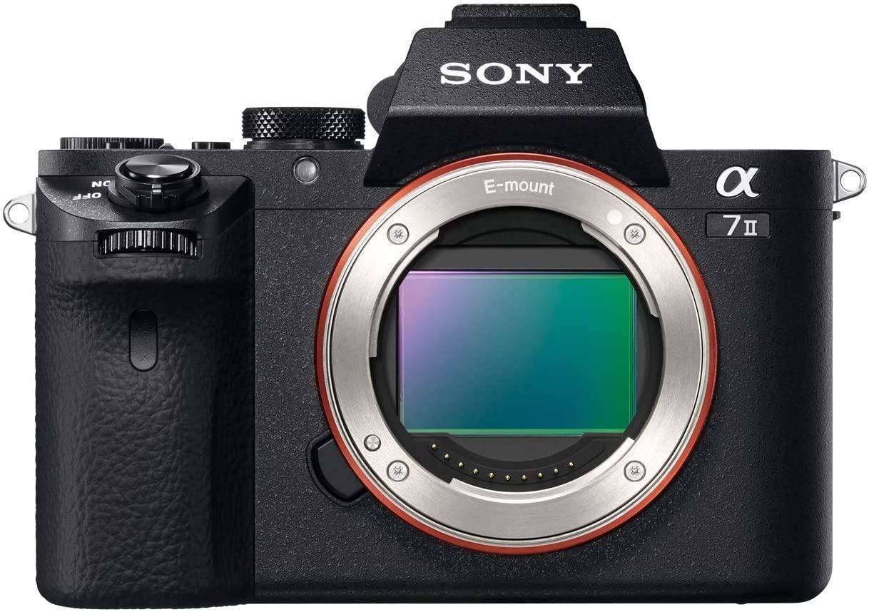 Vista del sensor de la Sony alpha 7II