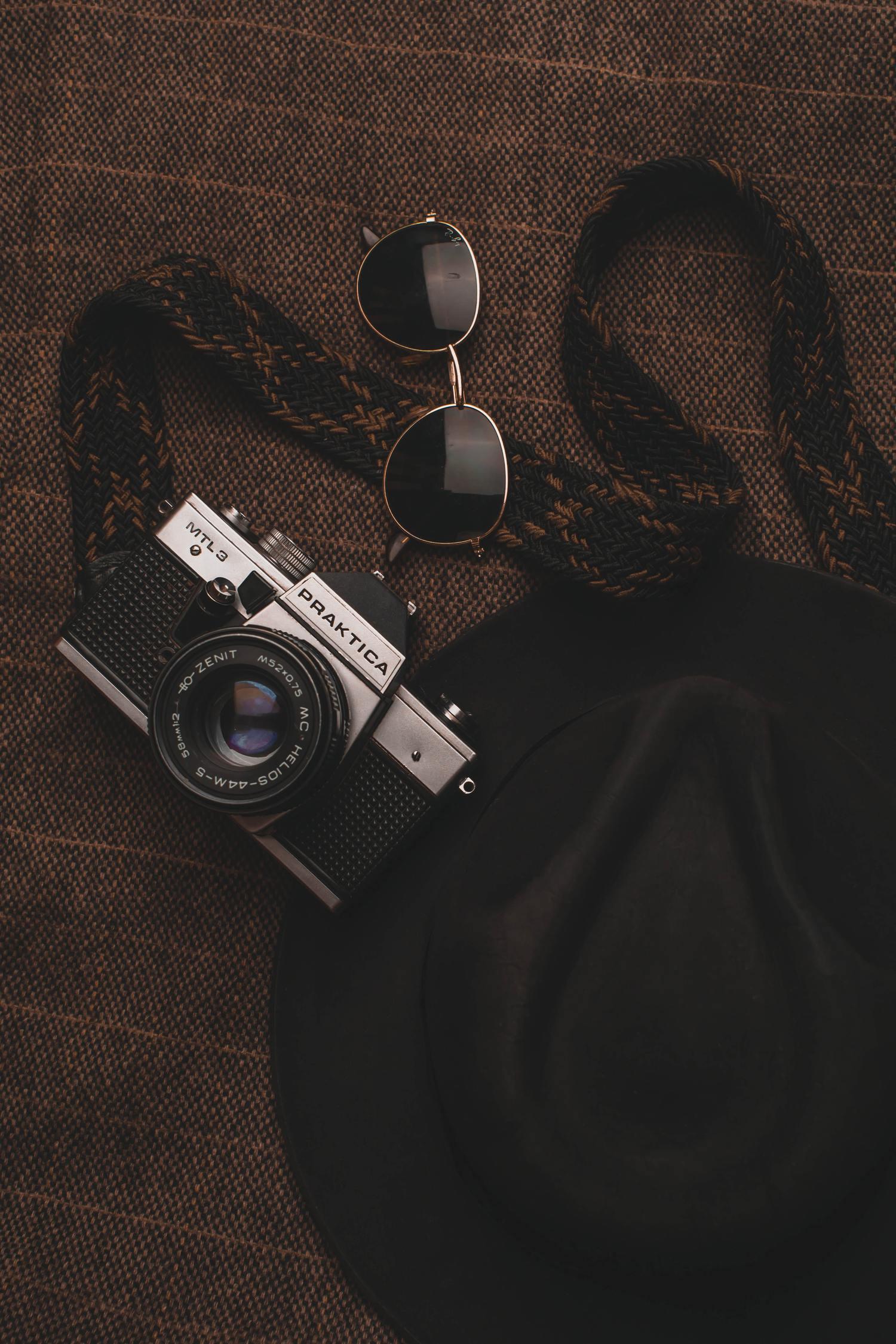 Пример аналоговой камеры