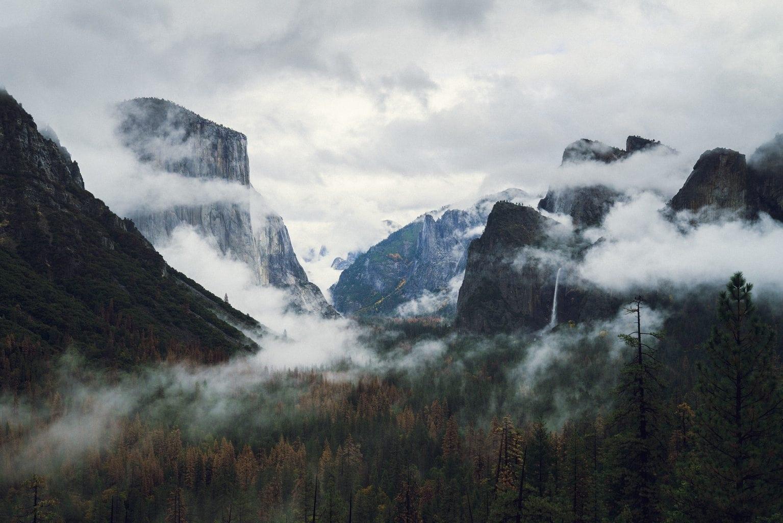 Usa un trípode para fotografiar paisajes como este