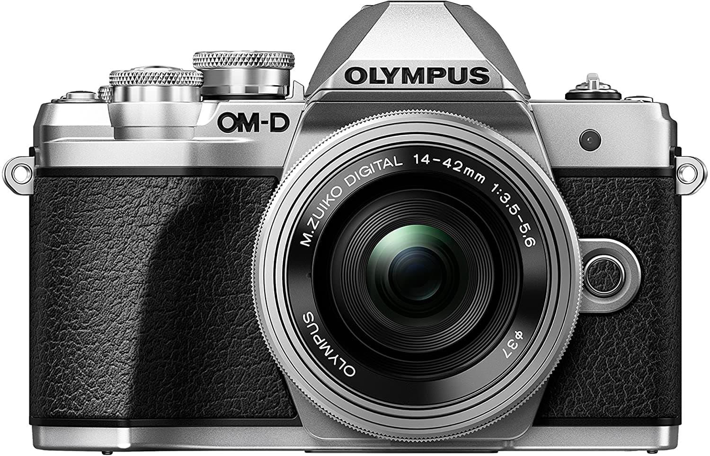 Cámara EVIL Olympus OM-D E-M10 (MARK III) vista de frente