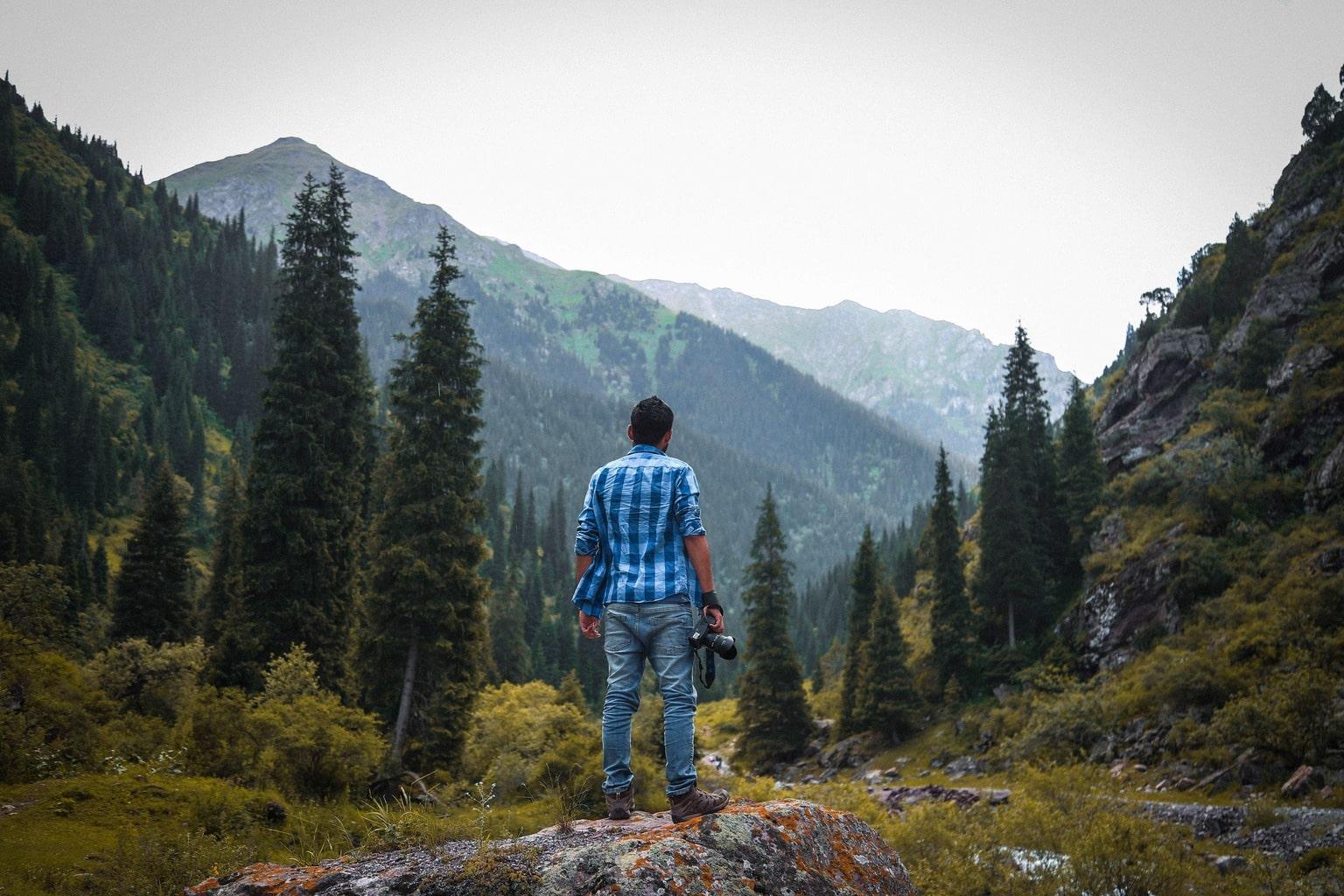 Fotógrafo en la naturaleza