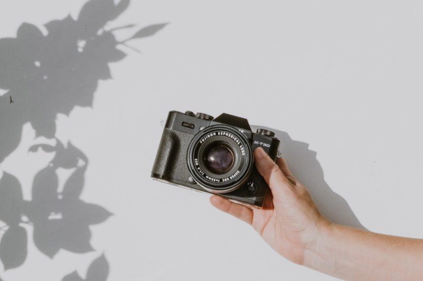 cámara sin espejo