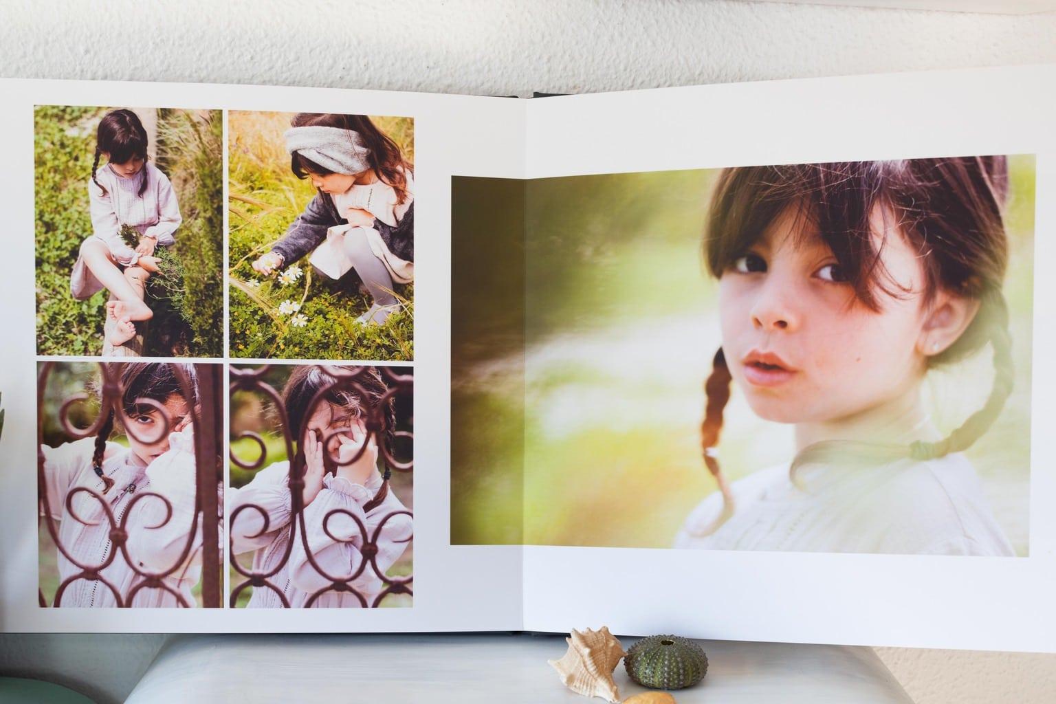 Ejemplo de páginas interiores álbum Cewe