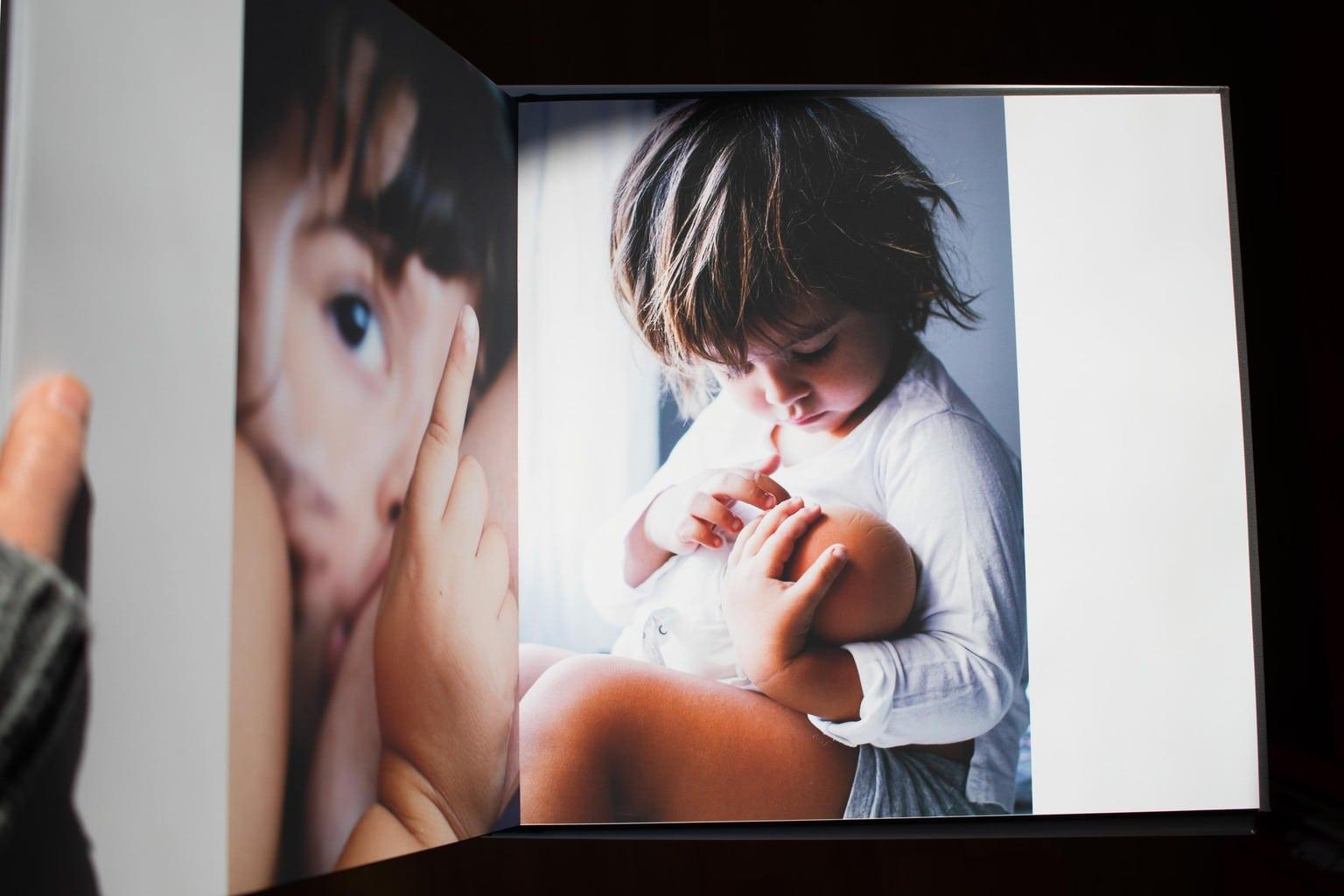 Ejemplo impresión en color del álbum Cewe