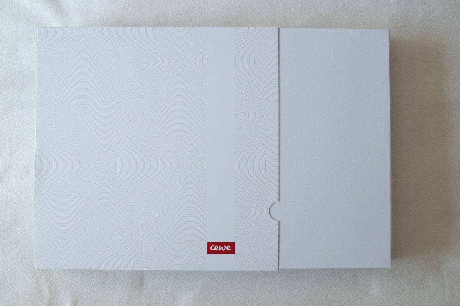 Caja de presentación álbum cewe
