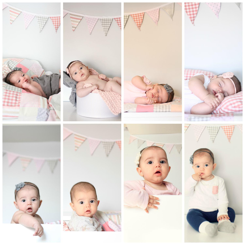 fotografía bebés evolución