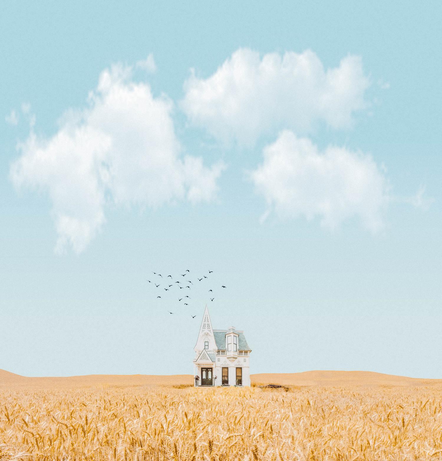 fotografía narrativa con composición minimalista