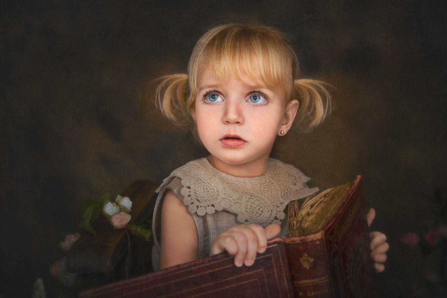 fotografía infantil fine art