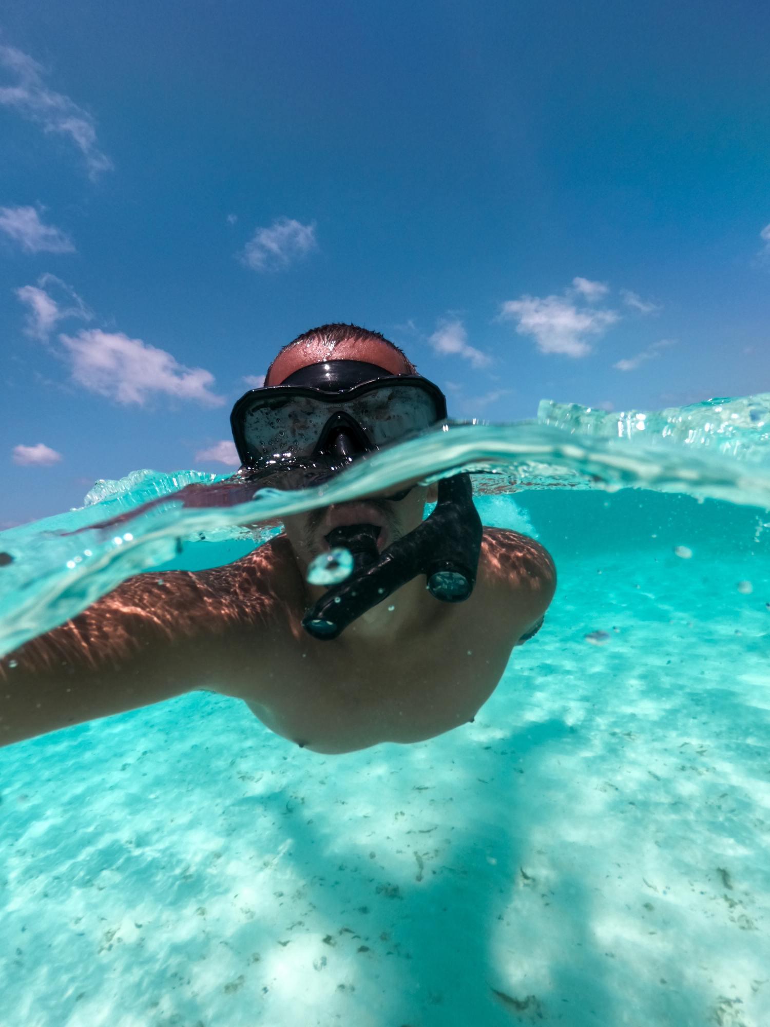 Foto acuática con Hero7