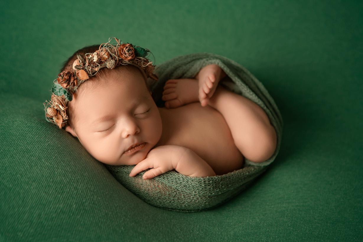 Fotografía newborn por el fotógrafo Germán Arce