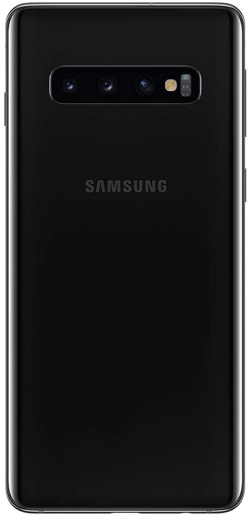Vista trasera del móvil Samsung Galaxy S10