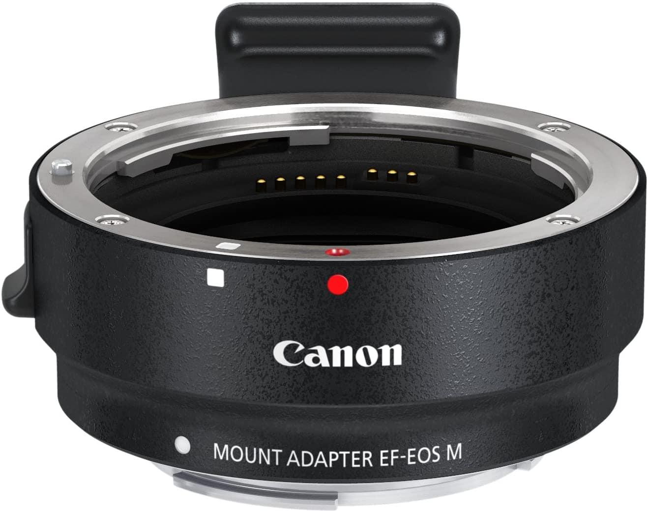 Adaptador Canon EF-EOS M