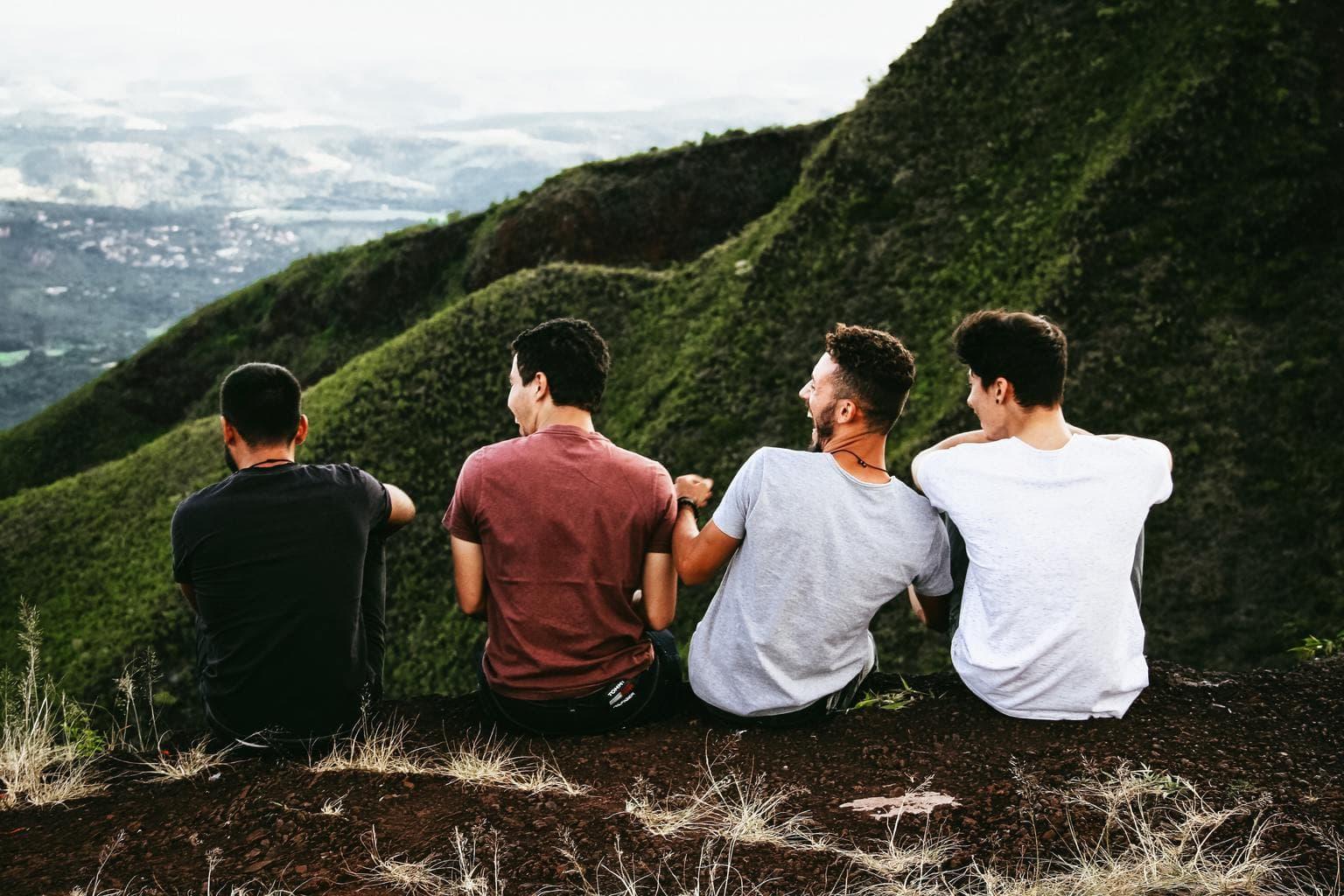 Grupo de amigos para fotoreto84