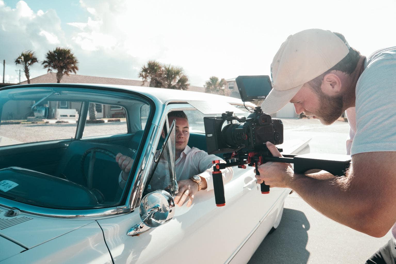 cámara vídeo coche