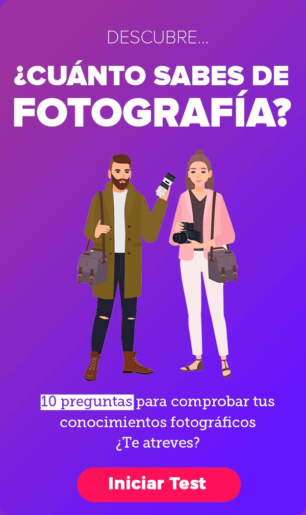 Test de conocimientos fotográficos