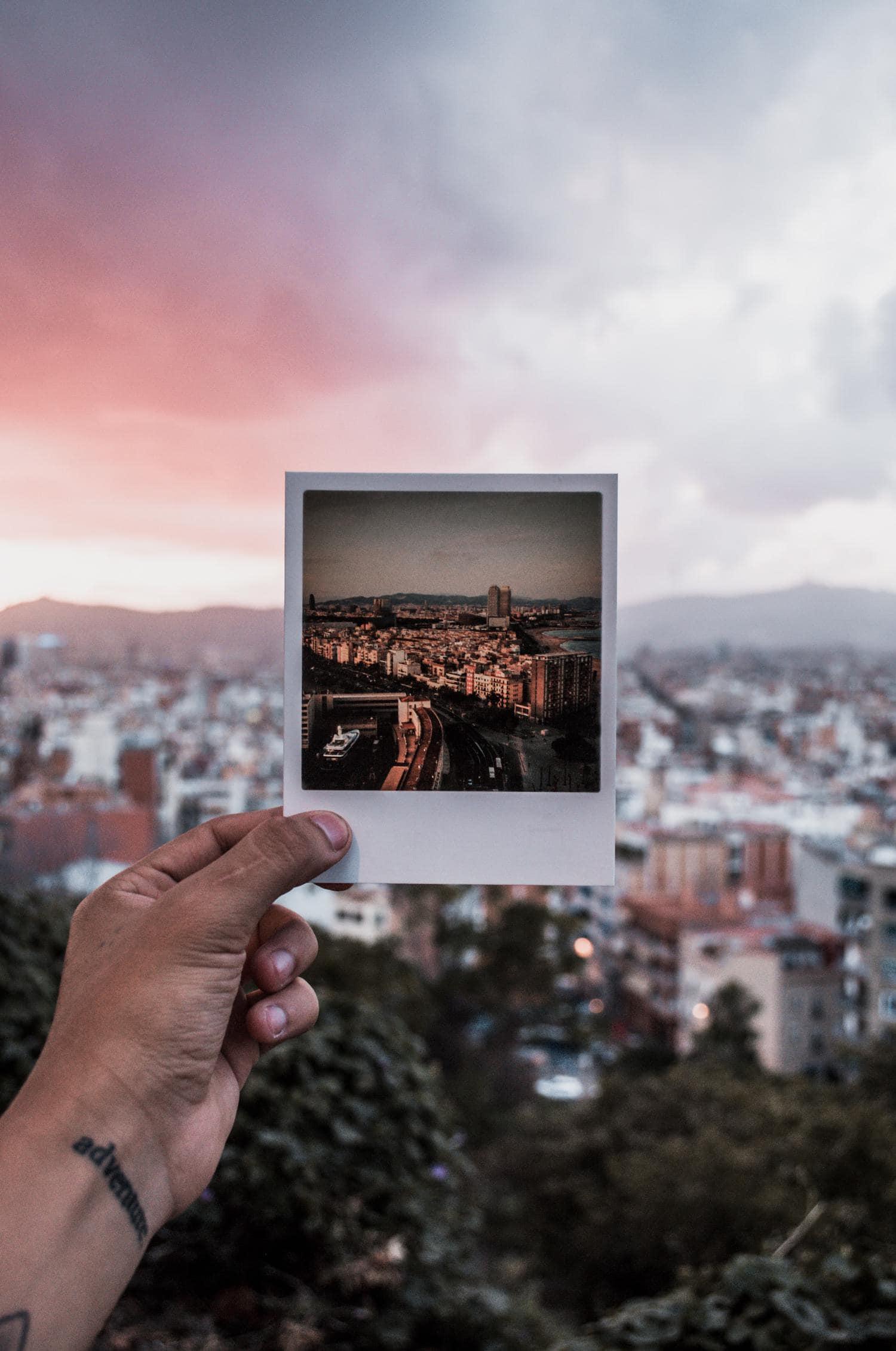 Мгновенное фото с камеры