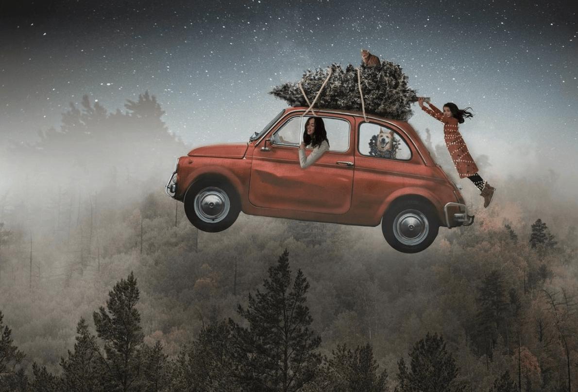 Fotografía de Navidad ganadora de #Fotoreto82