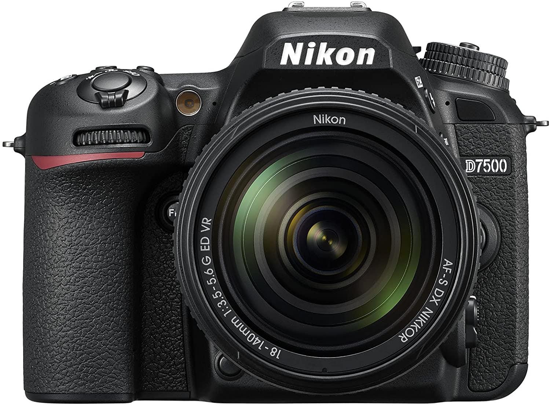 Vista cámara para foto y vídeo Nikon D7500