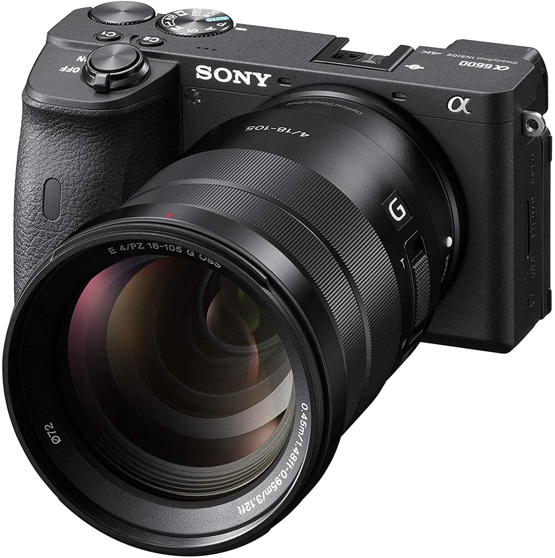 sony a6600 cámara vídeo