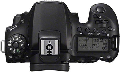 Vista superior canon eos 90D