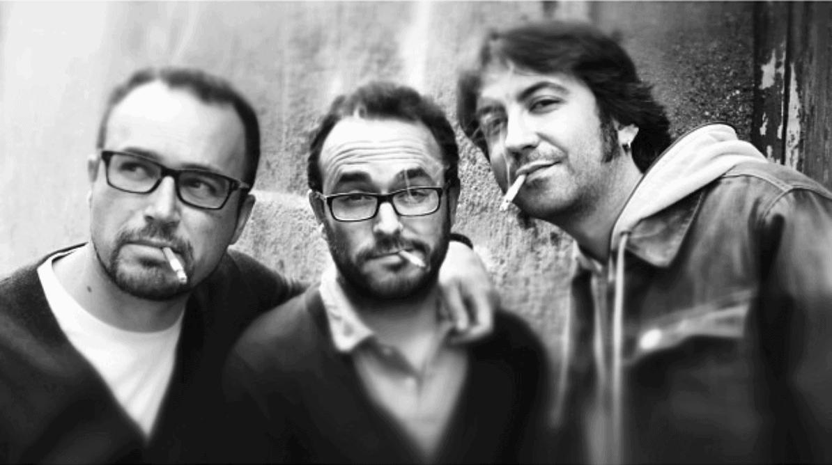 fotografía de tres amigos ganadora del fotoreto86
