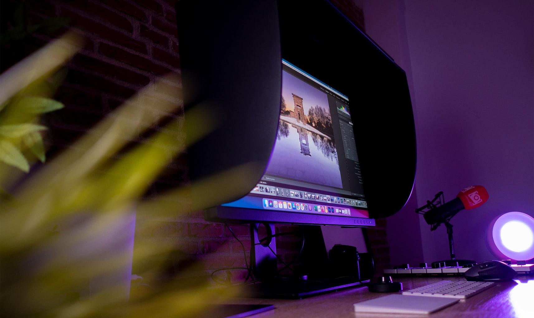 El mejor monitor para fotografía: BenQ SW321C
