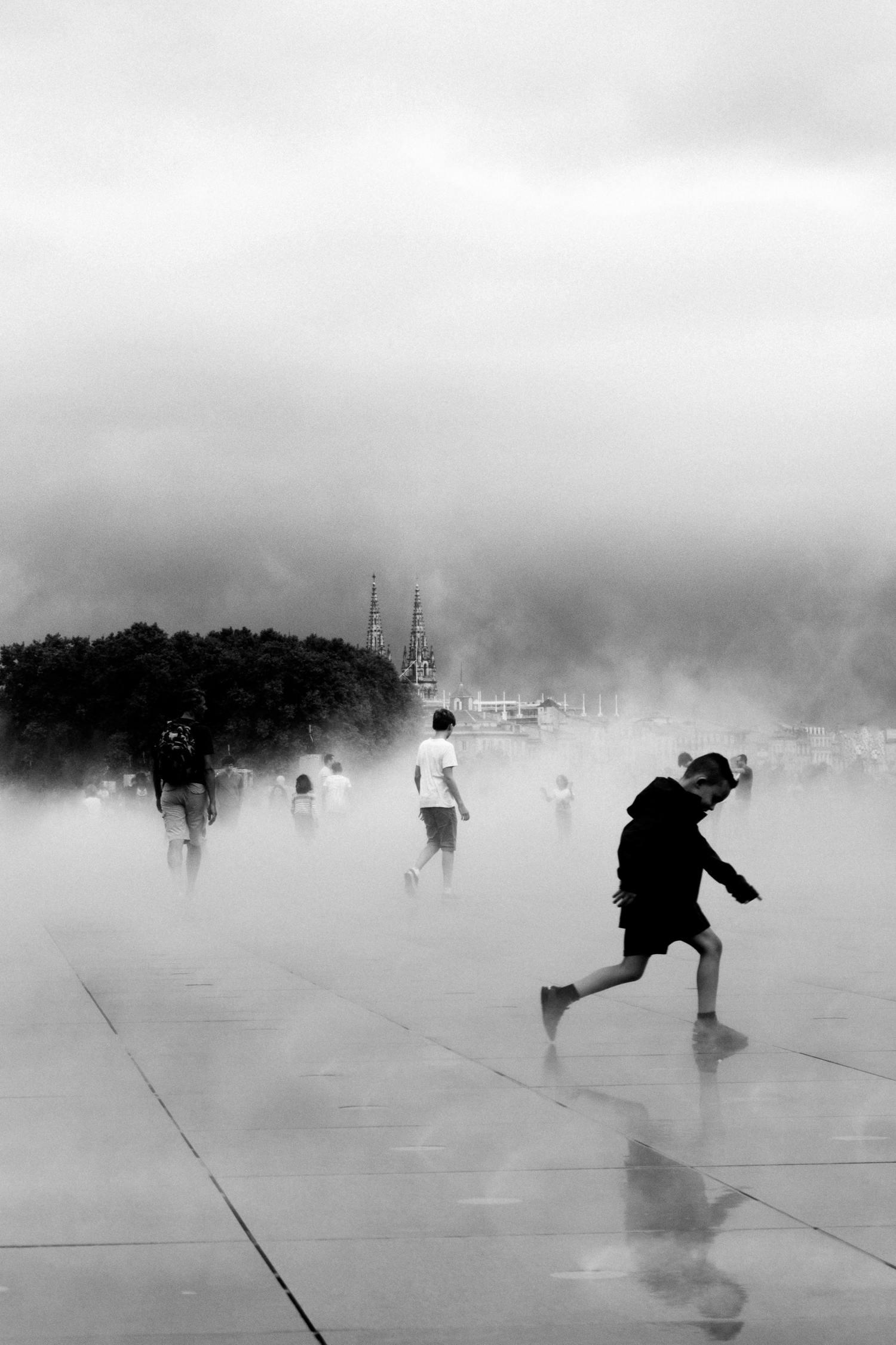 Fotografía callejera en blanco y negro