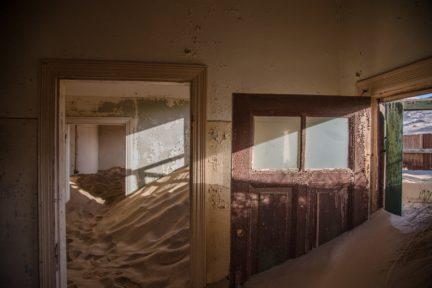 lugar viejo y abandonado