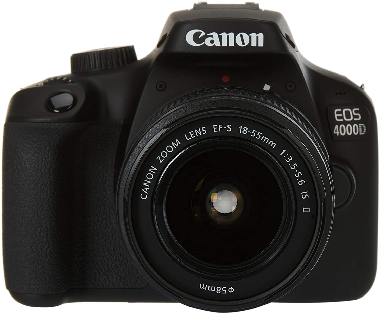 cámara réflex Canon EOS 4000d