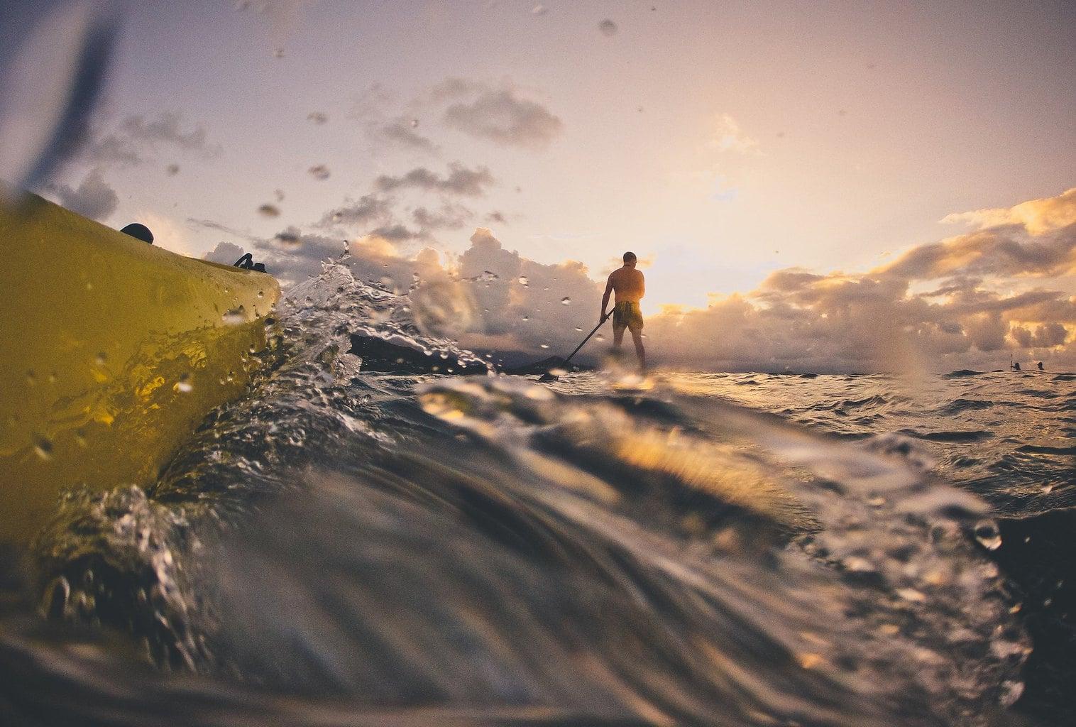 Fotografía en el agua con gopro