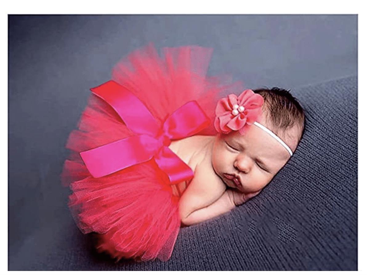 falta de tul para newborn
