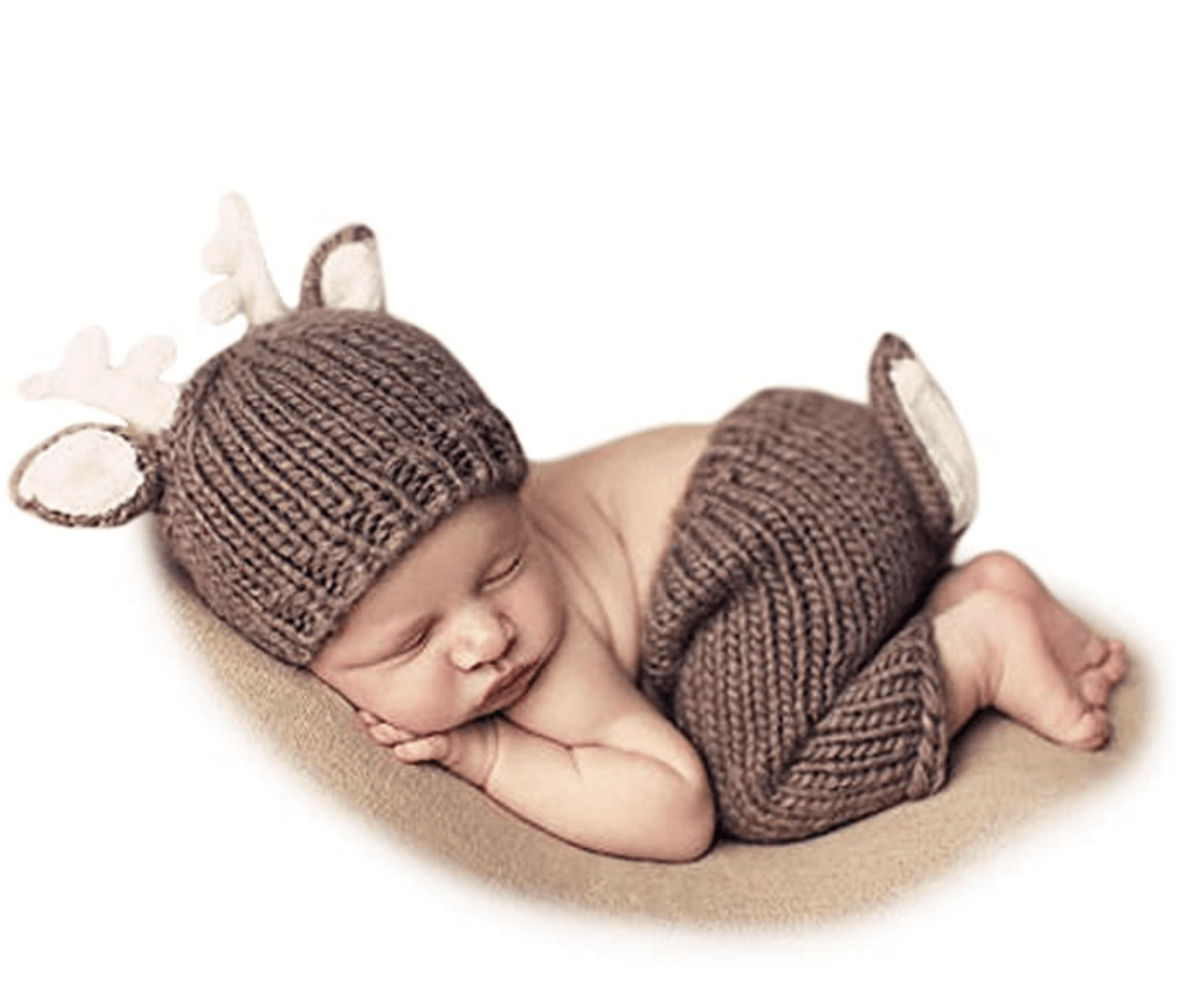 conjunto de recién nacido para sesión de fotos