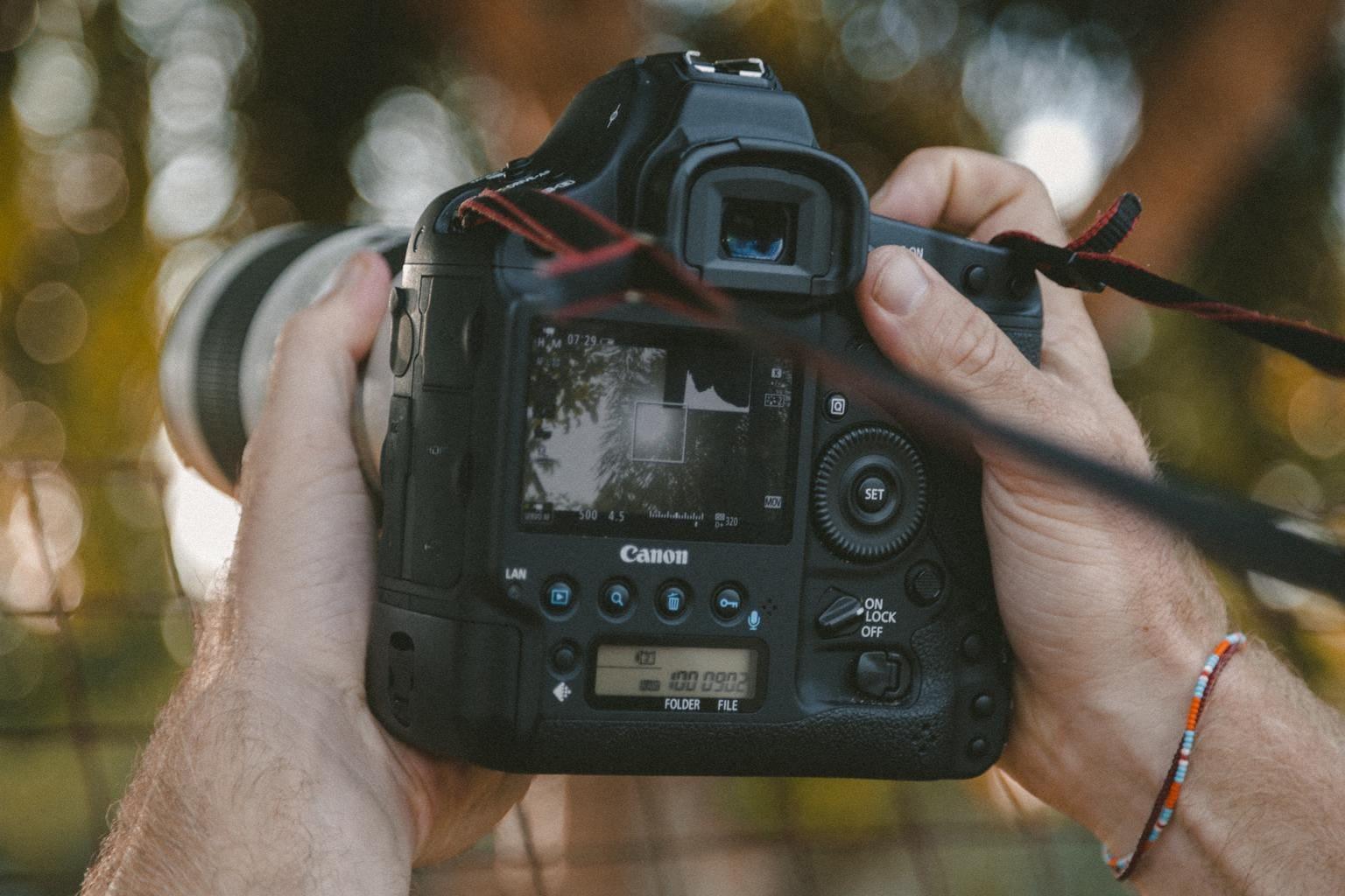 Fotografía a través del modo de disparo con visión directa