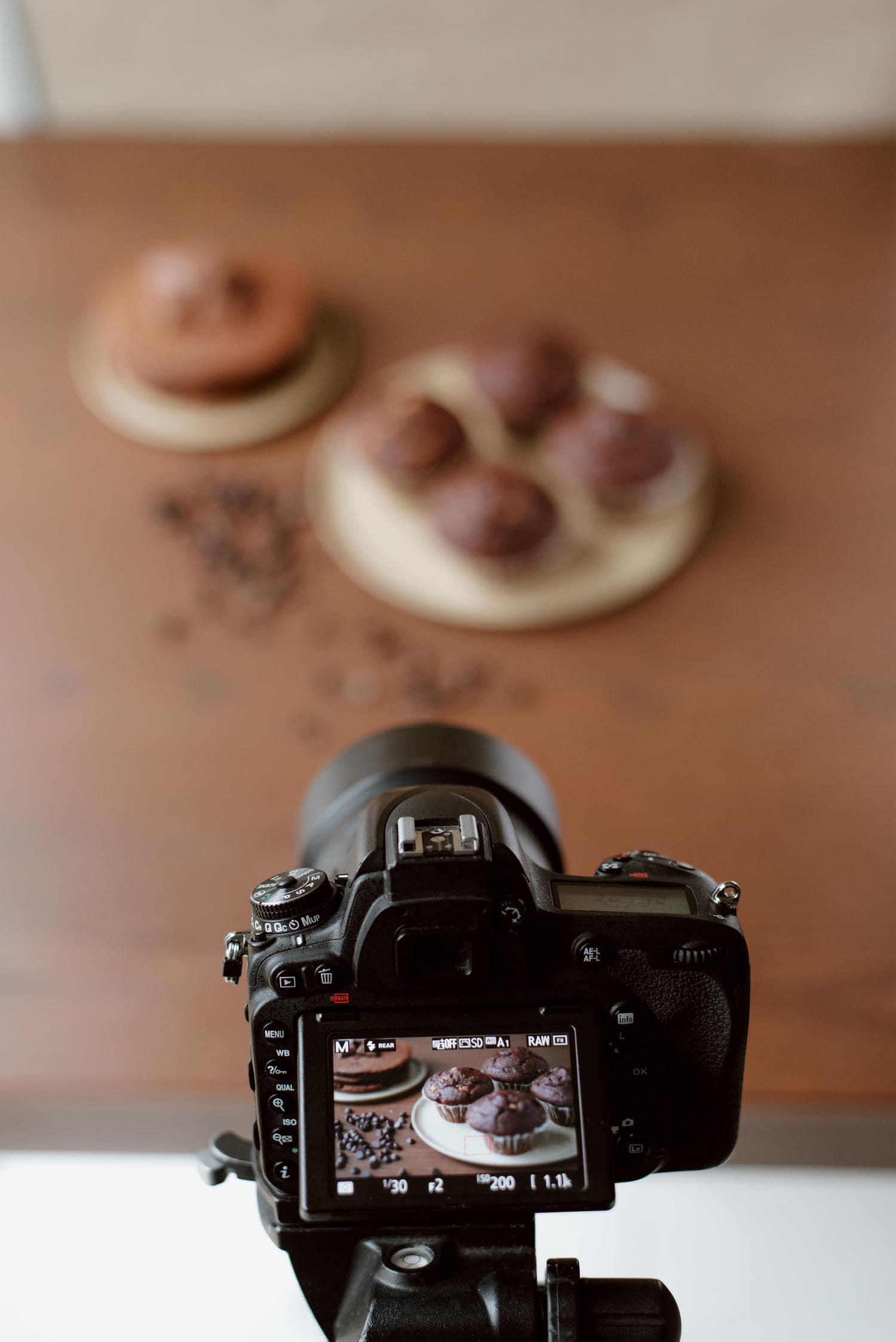 Fotografía gastronómica con Live View