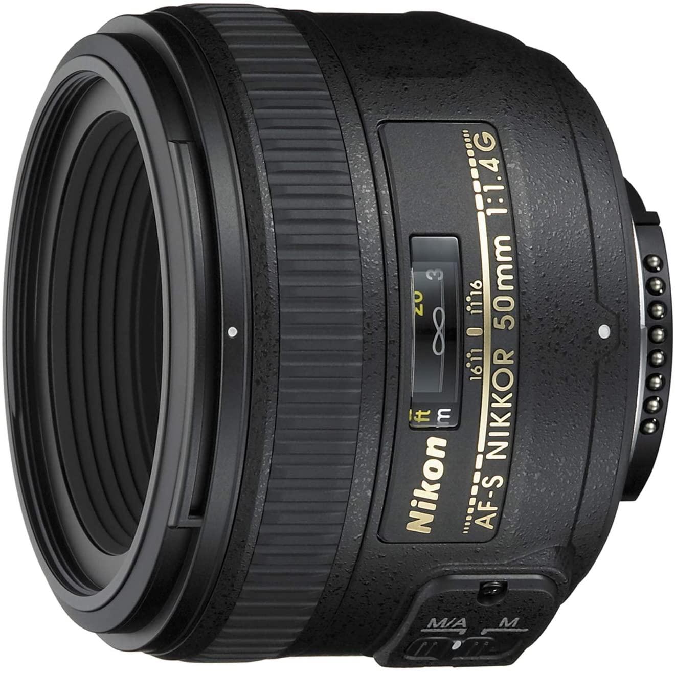 Objetivo para fotografía de calle Nikon AF-S 50mm F1.4 G