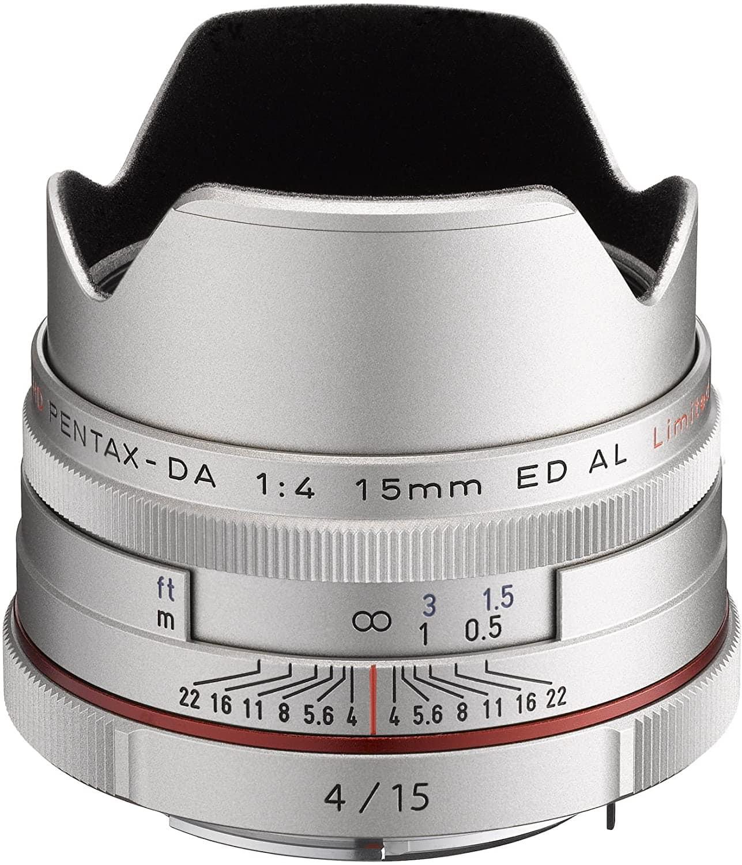 Objetivo para street photography de Pentax DA 15mm f/4 AL LTD HD Limited