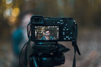 Trípode para vídeo portada