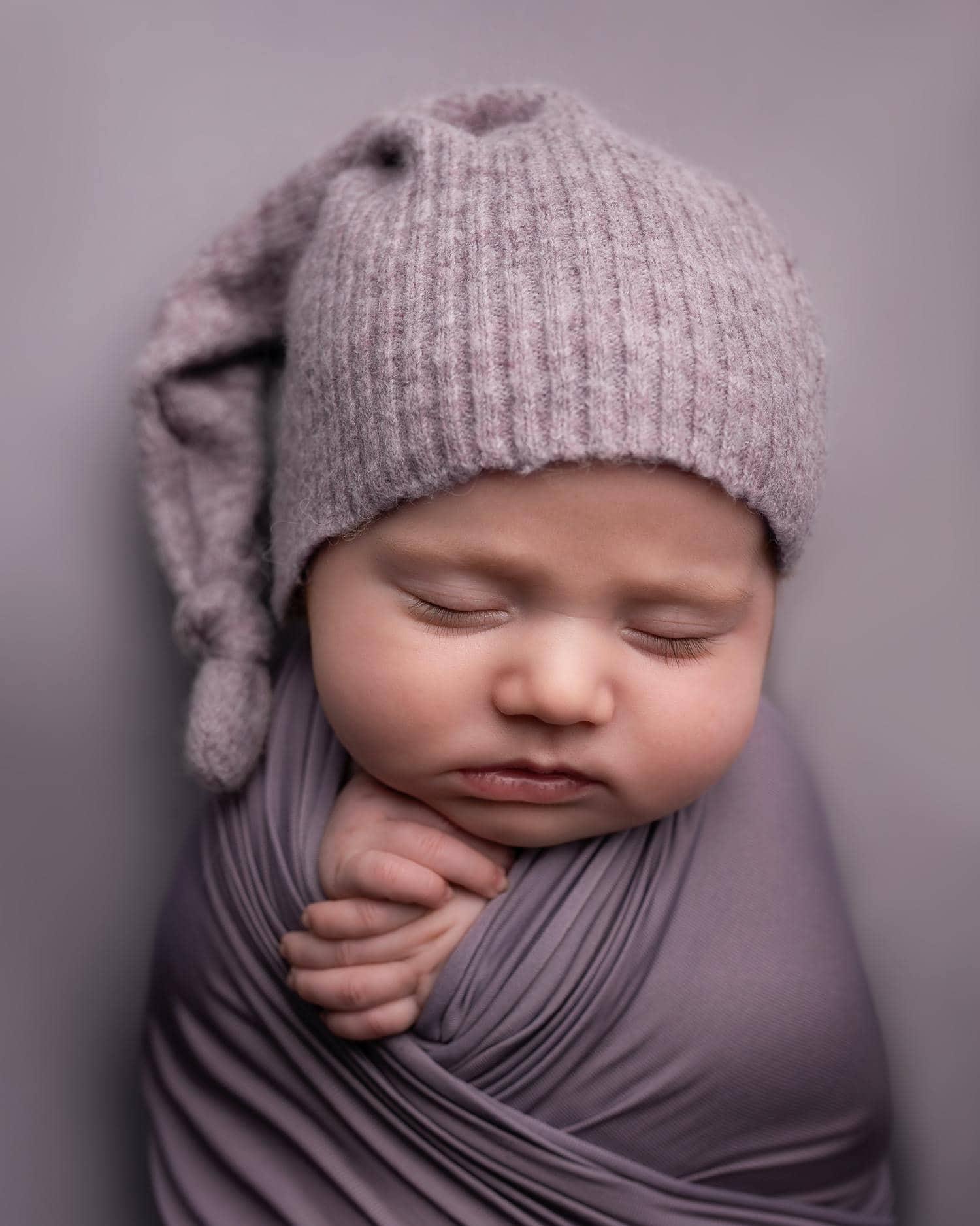 bebé lila newborn