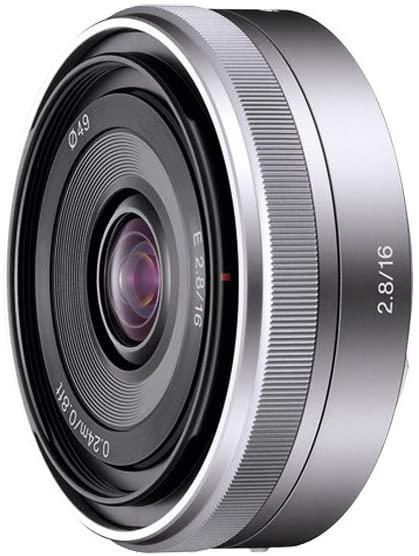 objetivo para fotografiar la calle Sony E 16 mm f/2.8