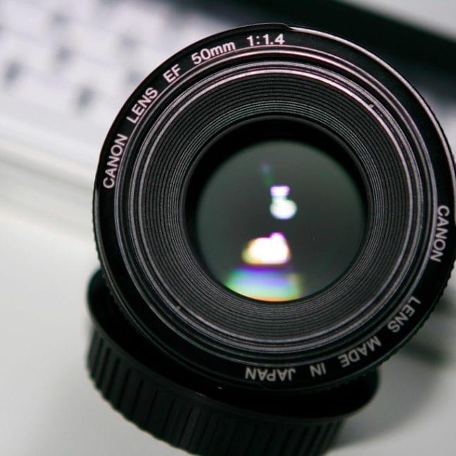 Objetivo de Canon 50mm f/1.4