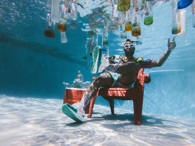Fiesta debajo del agua
