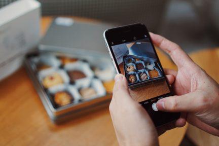 Haciendo fotografía con móvil