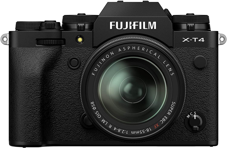 Cámara Fujifilm X-T4 vista frontal