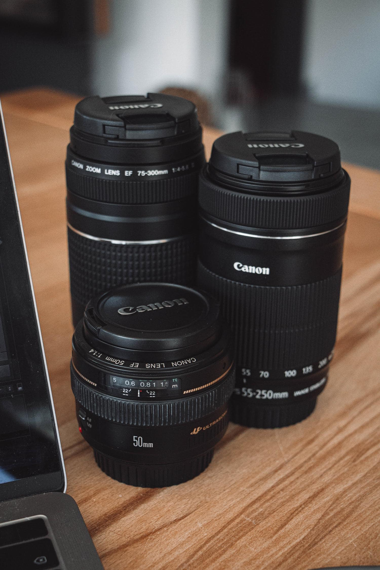 Objetivos para fotografía